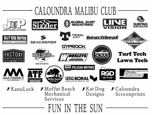 CALOUNDRA MAL CLUB BACK PRINT FUN IN THE SUN 2017